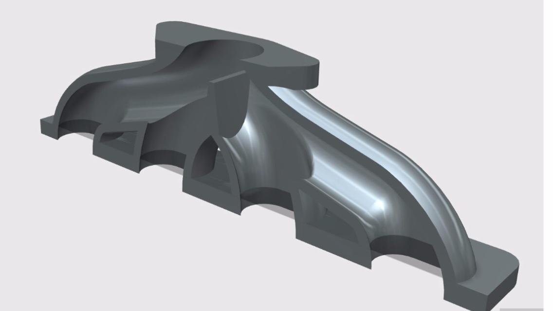 Cast Manifold And Downpipe  TD04 Turbo, Mazda MX5 1 8